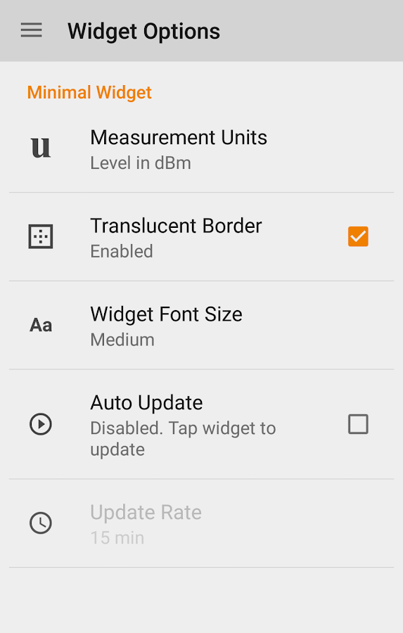 WIFI Signal Strength- screenshot