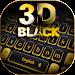 3D Black Keyboard Theme icon