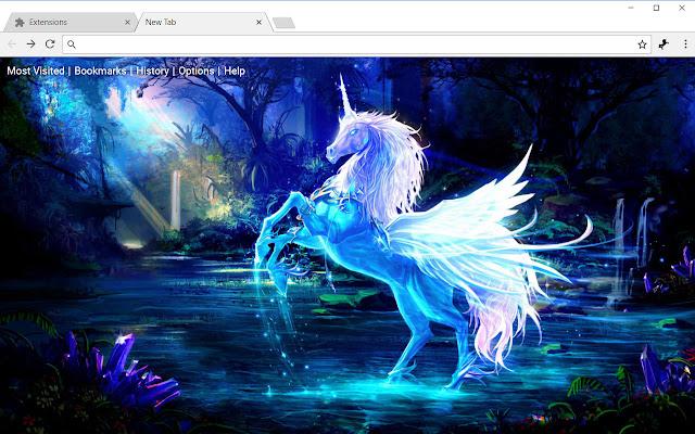 Unicorn & Magic Horse HD Wallpapers Themes