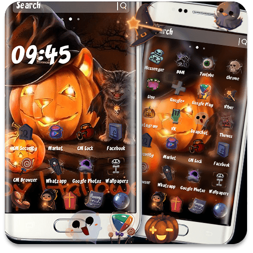 Halloween Kitty Theme