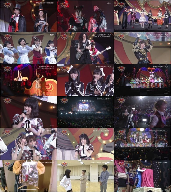 (TV-Music)(1080i) AKB48G – 日テレ HALLOWEEN LIVE 2015 AKB48のハロウィン・ナイトスペシャル! 151203