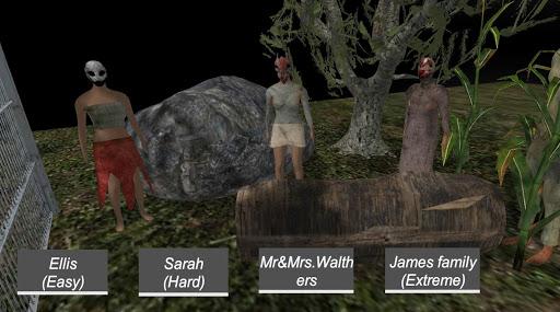 عائلة الشر - لقطات شاشة لعبة الرعب 1