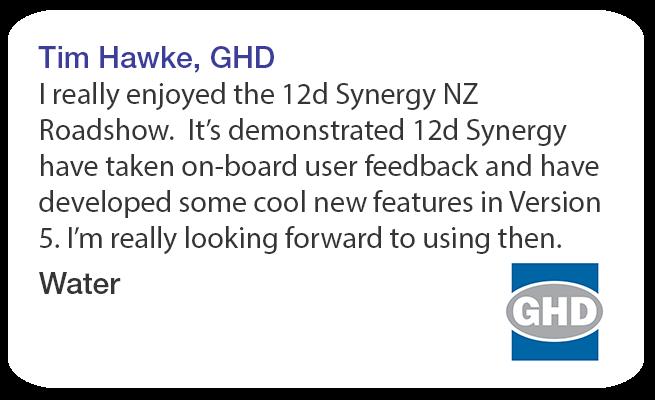 Tim Hawke GHD 12d Synergy Roadshow Testimonial