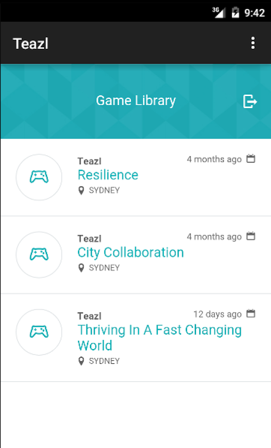 teazl learning- screenshot