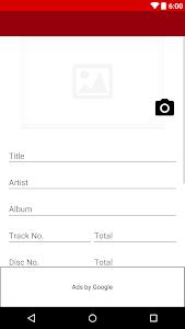 Audio Tag Editor screenshot 0