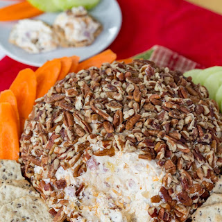 Pineapple Ham Cheese Ball.