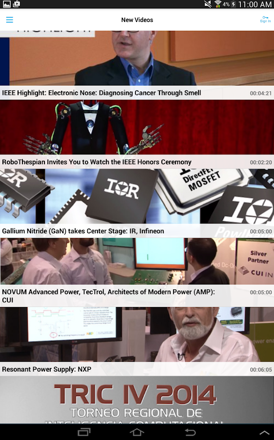 IEEE.tv- screenshot