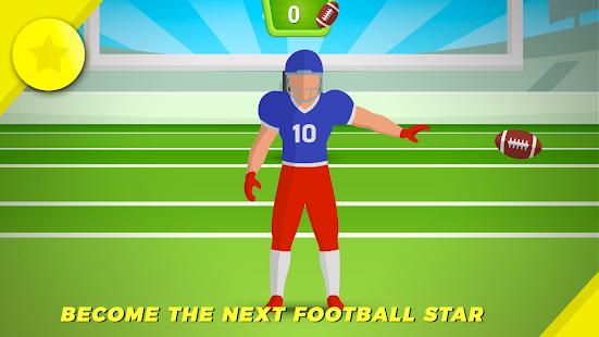 Catch The Football - náhled
