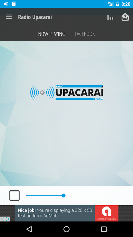 Rádio Upacaraí- screenshot