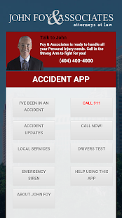 John Foy - Accident App- screenshot thumbnail