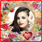 Lovely Flower Photo Frame icon