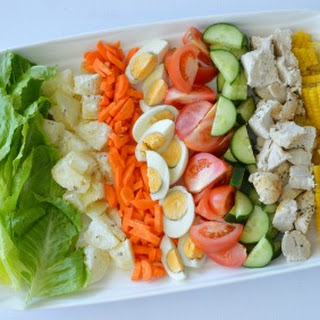 Family Friendly Cobb Loaf Recipe and Win a Fruit and Veg Box from Aussie Farmers Direct