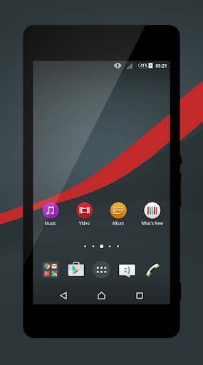 Blue Lollipop - Red Theme