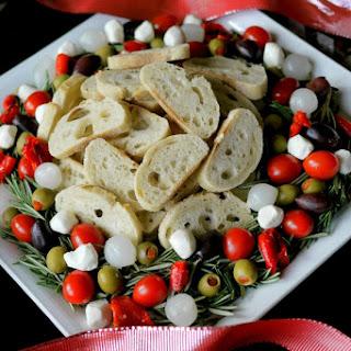 Christmas Antipasto Wreath Recipe