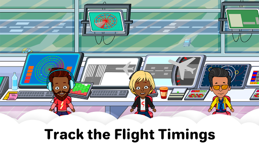 My Airport Town: Kids City Airplane Games for Free screenshots 7