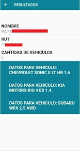 Buscar Patentes Chile Screenshot
