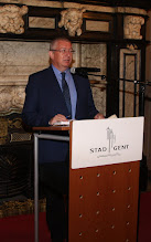 Photo: Manfred Schrenk at CORP 2015 Welcome Reception, Gent / Ghent City Hall