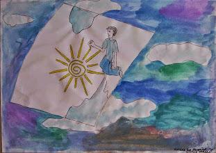 Photo: Мамадова Матана-Хая. 13 лет. Пусть всегда будет Солнце. Студ. Натальи Ланге. Израиль. г. Беэр-Шева
