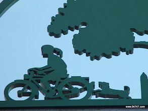 Photo: Typical Signage Detail, Celebration, FL