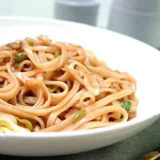 Sesame Ginger Udon Noodles.