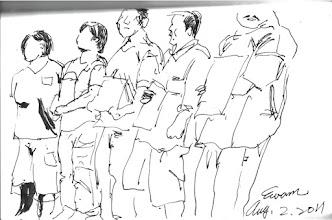 Photo: 排排站2011.08.02鋼筆 排一排,站看看,在妳心裡什麼排第一?什麼第二?最後是什麼?