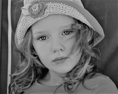 Thoughtful B&W by Cheryl Korotky - Black & White Portraits & People