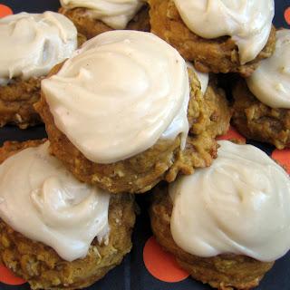 Pumpkin Oat Jumbles with Brown Butter Glaze