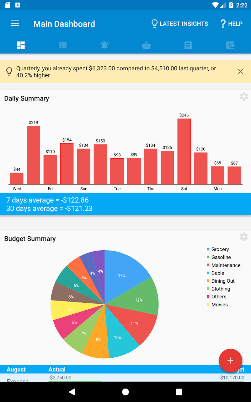 Bluecoins- Finance, Budget, Money, Expense Tracker Screenshot 16
