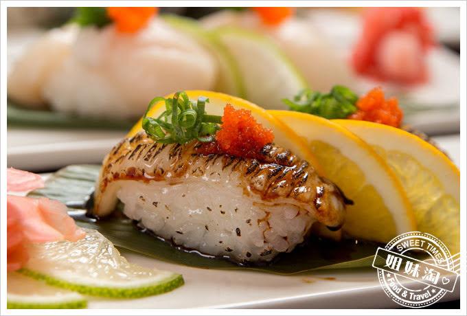 番太郎日式居酒屋至稍比目魚側緣壽司