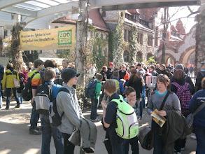 Photo: Wir betreten das Zoogelände