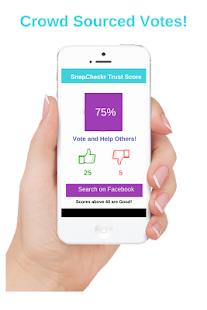 SnapCheckr - Vote People you Date - náhled