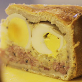 Ham Hock, Cheese & Egg Pie