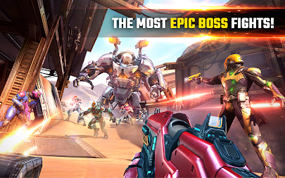 SHADOWGUN LEGENDS - FPS PvP Free Shooting Games APK screenshot thumbnail 13