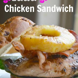 Luau Chicken Sandwich Recipe