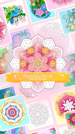 Color by Number – Mandala Book 1.0.2 screenshots 1