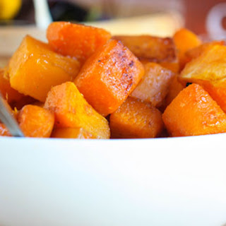 Brown Sugar Roasted Butternut Squash