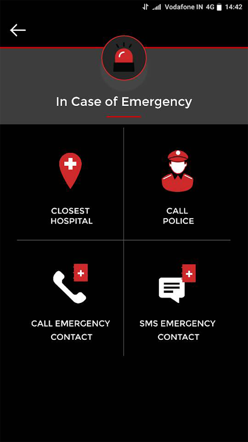 Vodafone-SaveLIFE Road Safe- screenshot