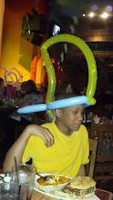 Photo: and Jihad a shark fin hat