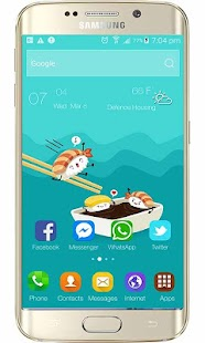 Launcher Xiaomi redmi 4 theme - náhled