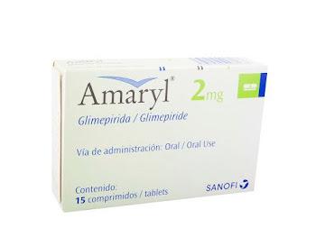 Amaryl 2Mg Comprimidos Caja