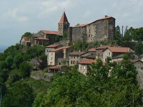 Photo: St privat d' Allier et le château des Mercoeur