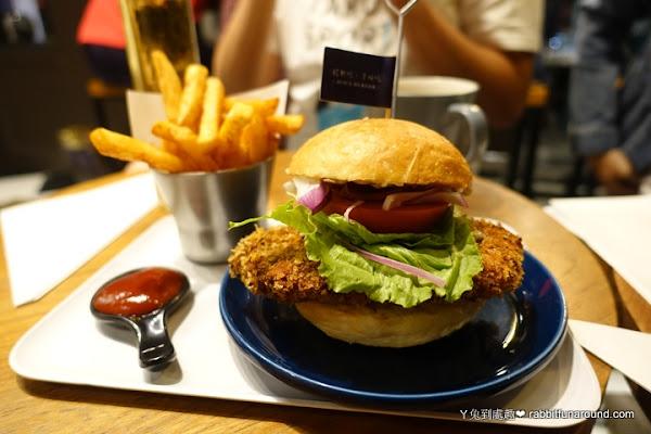 朱熹漢堡 Juicy Burger。美味多汁的厚牛漢堡、香辣炸雞堡