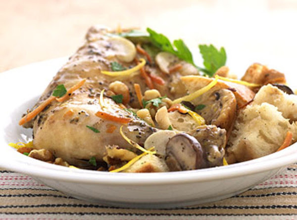 Slow Cooker Chicken With Mushroom Stuffing Recipe