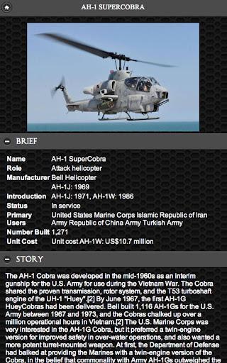 AH -1 超级眼镜蛇 直升机|玩書籍App免費|玩APPs
