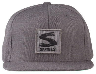 Surly Gray Area Snap Back Hat - Dark Heather Gray, One Size alternate image 0