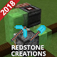5 Simple Redstone Creations for MCPE