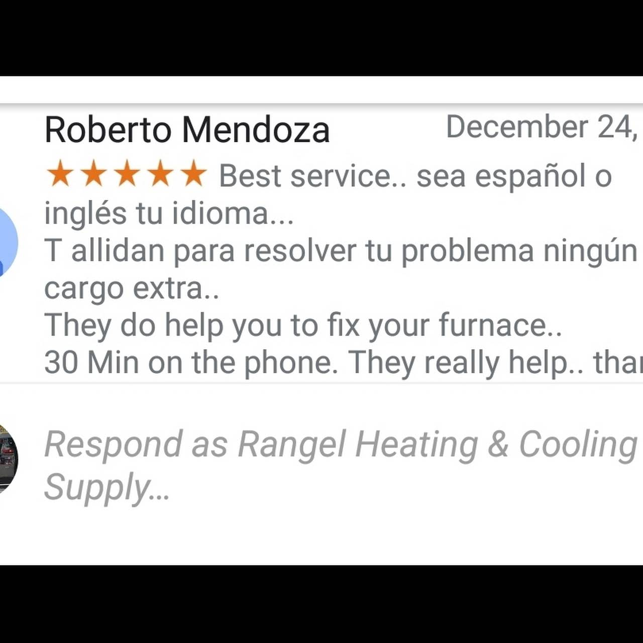 Rangel Heating & Cooling Supply - Furnace Parts Supplier in