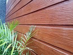 Bề mặt thanh gỗ xi măng ốp trần nội - ngoại thất vô cùng tự nhiên.