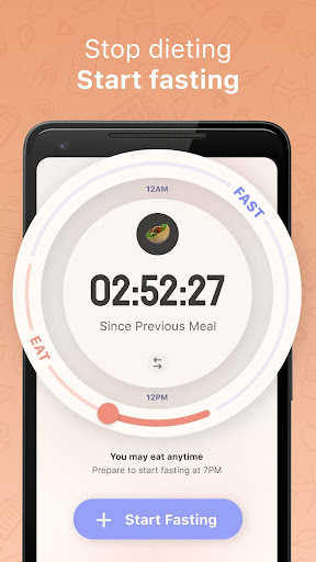 Simple: Intermittent fasting and meal tracking 5.3.7 screenshots 1