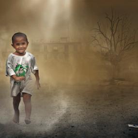 flash smile by Rajha Tahir - Digital Art People